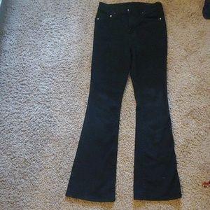 H&M black flare jeans